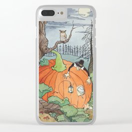 Peter the Pumpkin Eater Clear iPhone Case