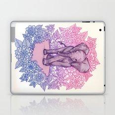 Cute Baby Elephant in pink, purple & blue Laptop & iPad Skin