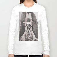 rorschach Long Sleeve T-shirts featuring Rorschach  by Taylor Starnes