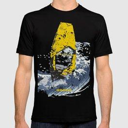 Ocean Wind Wave Winsurf Board T-shirt