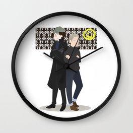 Baker Street Boys Wall Clock