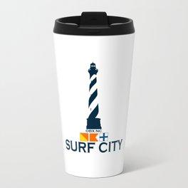 Surf City - North Carolina. Travel Mug