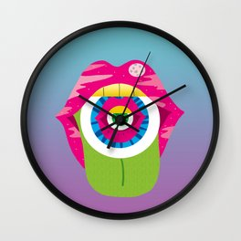 whistleburg - watch your mouth Wall Clock