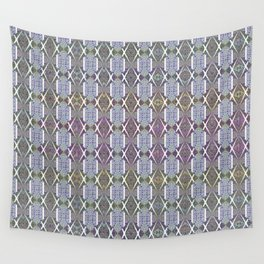 Wallpaper Inspirations - Sparkling Blues Wall Tapestry