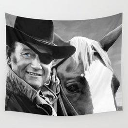 John Wayne @ True Grit #1 Wall Tapestry