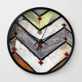 Marble Floor Wall Clock