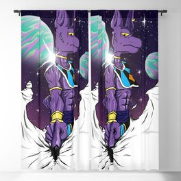 Beerus The Destroyer Blackout Curtain