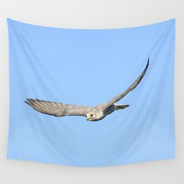 The moment, not the bird, divine Wall Tapestry