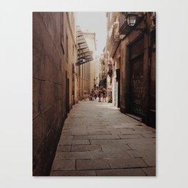 Gotico Canvas Print