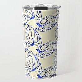 Seaweed Abstract Travel Mug