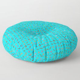 Heroes in the Half Shell (Blue) Floor Pillow