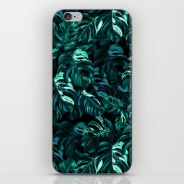 TROPICAL GARDEN XII iPhone Skin