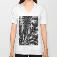 """psychedelic art V-neck T-shirts featuring """"  psychedelic """"  by shiva camille"""