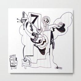 1997 xi 02 Metal Print