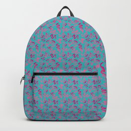 Squiggles Pattern Backpack
