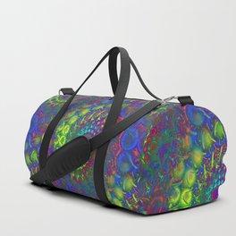 Bonkers 3D Fractal Duffle Bag
