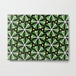 colorful illusion pattern background Metal Print