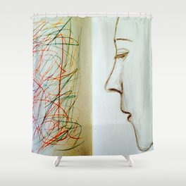 Artificial Intelligence. Shower Curtain