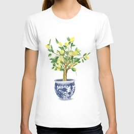 Lemon tree , watercolor painting T-shirt