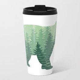 Forest Bear Metal Travel Mug