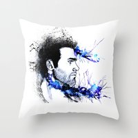 derek hale Throw Pillows featuring Derek Hale by Sterekism