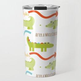 Alligator Crocodile Travel Mug
