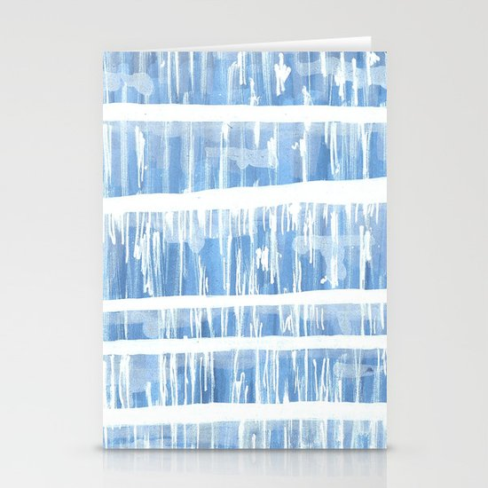 distressed I Stationery Cards