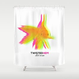 Twisted Hem Merchandise Shower Curtain