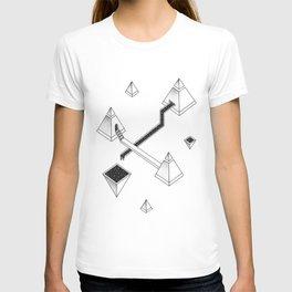 Space Pyramids T-shirt