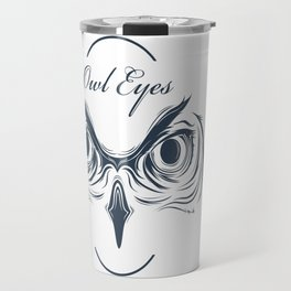 owl eyes Travel Mug