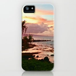 Sunset in Paia iPhone Case