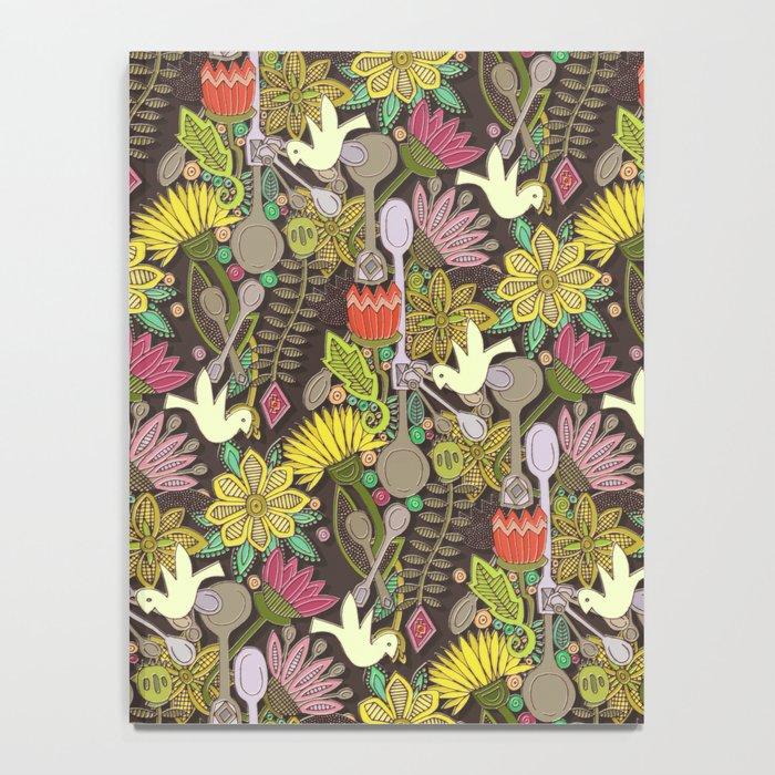 dove spoon garden Notebook