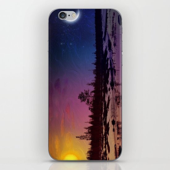 Day And Night - Painting iPhone & iPod Skin