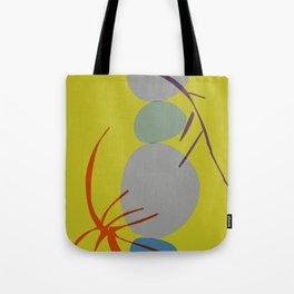 zen garden stones twigs Tote Bag