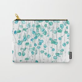 string of hearts watercolor Carry-All Pouch