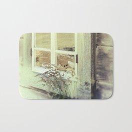 Old Window  Bath Mat
