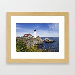 Portland Head Lighthouse Framed Art Print