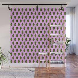 Hops Light Purple Pattern Wall Mural