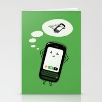 depeche mode Stationery Cards featuring Flight Mode by Lucas Scialabba :: Palitosci