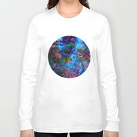 apollo Long Sleeve T-shirts featuring Apollo by Peta Herbert