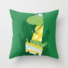 Hop-on-hop-off Throw Pillow