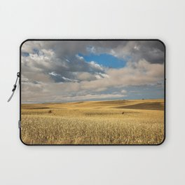 Iowa in November - Golden Corn Field in Autumn Laptop Sleeve