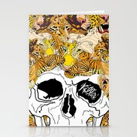 afro Stationery Cards featuring Afro by dogooder