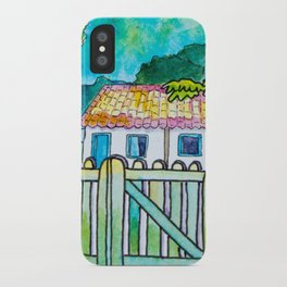 Green gate and the neighbors iPhone Case