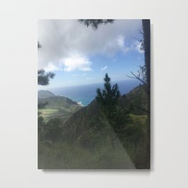 Peak of Paradise Metal Print