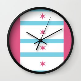Chicago remix Wall Clock