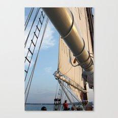 Sailboat Booms and Sails Canvas Print
