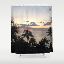 Sunset in the Florida Keys Shower Curtain