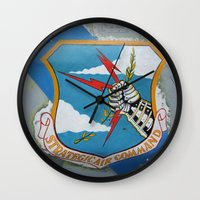 putin Wall Clocks featuring Strategic Air Command - SAC by Andrea Jean Clausen - andreajeanco