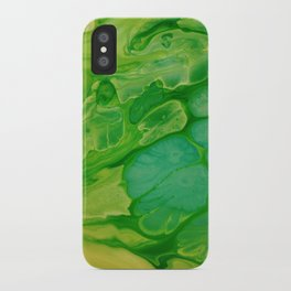 The green lakes iPhone Case